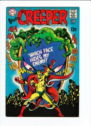 Beware the Creeper 4 VF+ 8.5 Silver Age