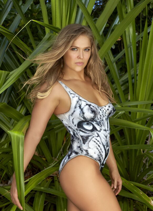 Ronda Rousey Lindsey Vonn Body Paint Sexy 8x10 Picture Celebrity Print