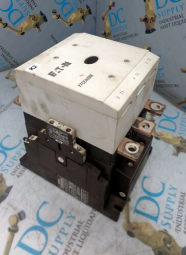 EATON XTC(E)(S)400M 24-48 VDC 3 POLE CONTACTOR W XTCEXSBN11 AUXILIARY CONTACT #2