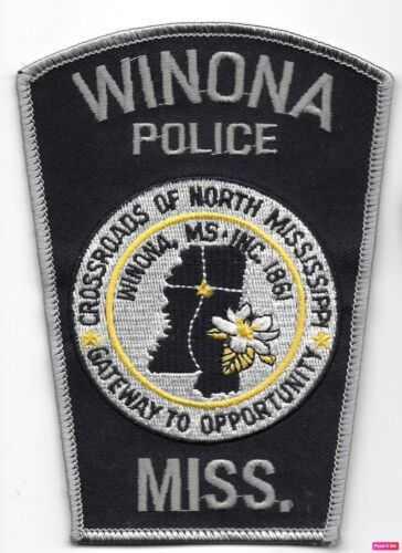 Winona Police State Mississippi MS Crossroads of MS