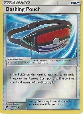 x4 Pokemon Cards Dashing Pouch Crimson Invasion 92 Reverse Playset