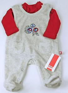 Kanz-Set-NUOVO-tutina-Shirt-I-ROBOT-bambino-BABY-misura-50-EX