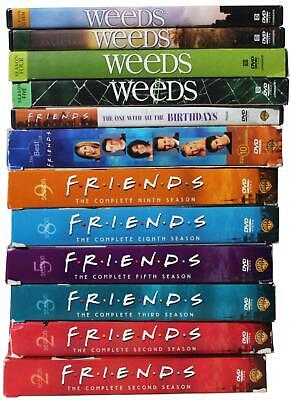 LOT Of 43 TV Show DVD BOX SETS Friends Sex & The City King Of The Hill Weeds ER 43-tv