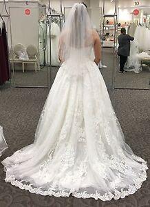 Oleg Cassini wedding dress - ball gown