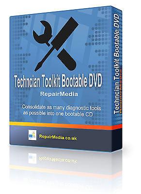 Windows Ultimate Boot DVD Computer Maintenance Repair Technician Toolkit PC DVD ()