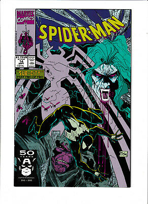 Spider-man (1990) #14 NM- 9.2 Marvel, Todd McFarlane;Black Costume,Morbius - 1990 Costumes