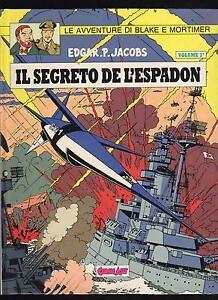 E-P-JACOBS-IL-SEGRETO-DELL-039-ASPADON-VOL-3-COMIC-ART-GRANDI-EROI-N-26-1988