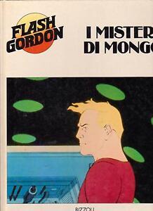 FLASH-GORDON-I-MISTERI-DI-MONGO-RIZZOLI-1981-PRIMA-EDIZIONE