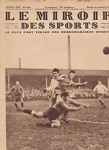 Le miroir des sports 1930 n 521 rugby boxe foot ball demi for Miroir des sports