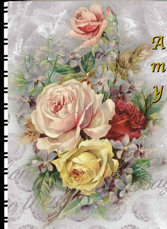 "Password/Web address Book ""Floral Delight"" 5"" X 7"""