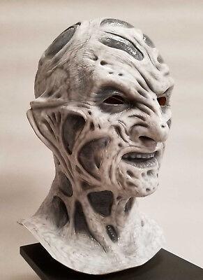 Freddy Krueger Stunt Mask  5   Scary Nightmare SPECIAL EDITION Gray Scale - Freddy Krueger Masks