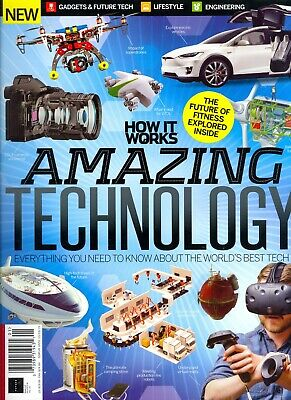 How It Works Amazing Technology Thirteenth Edition (2019)Gadgets Future Tech...