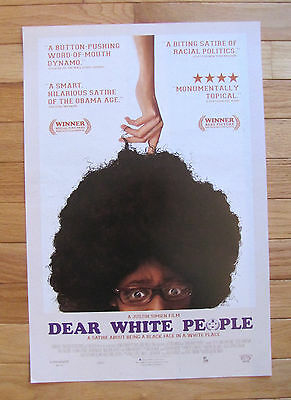 New  Dear White People  Promotional Movie Poster 13 1 2 By 20 Inches 2014