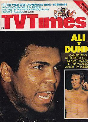 Muhammad Ali/John Gregson/British Council/ Destination America/TV TIMES 1976