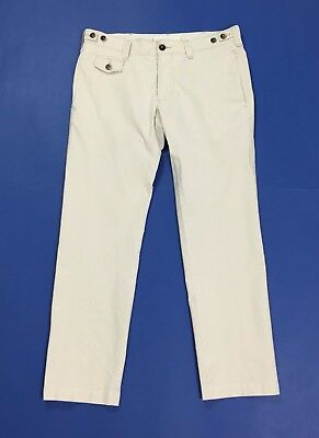Myths pantalone donna w32 tg 46 chiari rughe estivi leggeri donna usato T2718