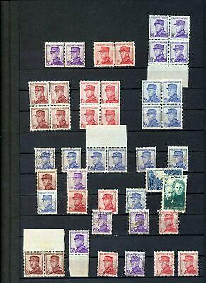 MONACO 1938/39 MNH MH Used +Blocks (40+Stamps)Kul927