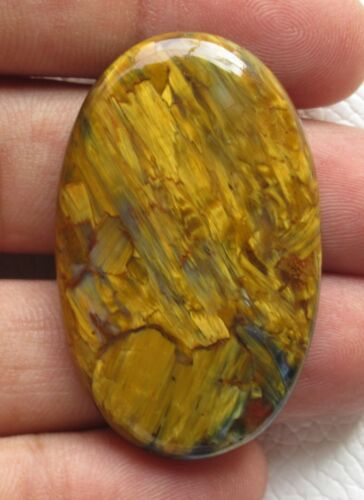 pietersite cabochon oval halloween gift natural loose gemstone 65.40 ct E 4714