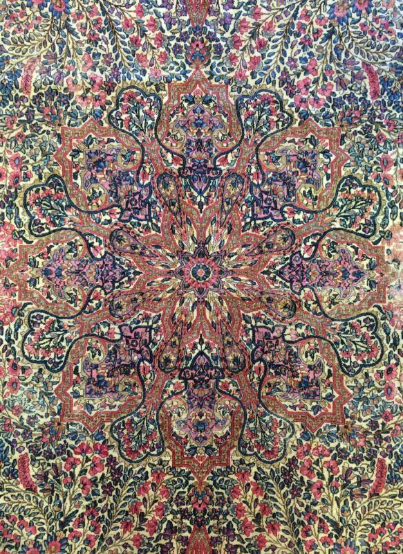 Fantastic Floral - 1910s Oriental Rug - Handmade Carpet - 8.7 X 14.1 Ft.