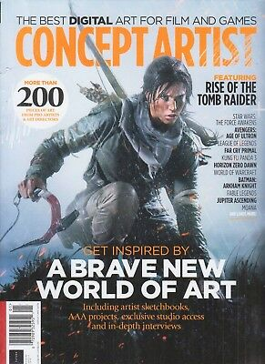 Concept Artist Magazine Issue 03 The Best Digital Art Film And Games