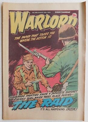 WARLORD Comic #256 - 18th August 1979