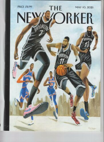 HOOP DREAMS IN NEW YORK NEW YORKER MAGAZINE MAY 10 2021 NO LABEL