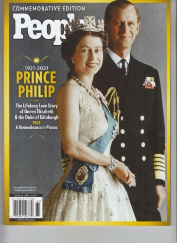PRINCE PHILIP LIFELONG LOVE STORY PEOPLE MAGAZINE COMMEMORATIVE EDITION 2021