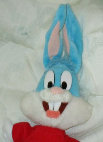 """1980 Applause Looney Tunes BLUE Plush Bugs Bunny 15"""" tall ear to toe"""