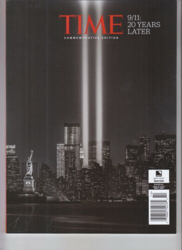 9/11 20 YEARS LATER TIME MAGAZINE COMMEMORATIVE EDITION 2021 BAUER MEDIA