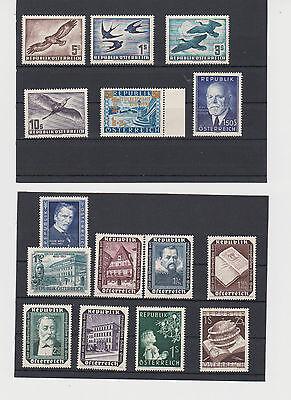 Österreich - Jahrgang 1953 ** komplett