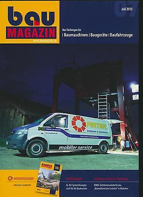 BauMagazin Juli 2012 (Titelthema: Pirtek)