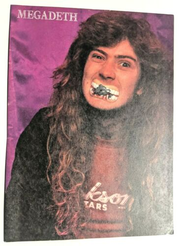 MEGADETH / DAVE MUSTAINE / MAGAZINE FULL PAGE PINUP POSTER CLIPPING (23)