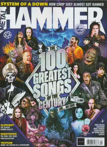 METAL HAMMER #346 APRIL 2021 / 100 GREATEST SONGS OF THE CENTURY.