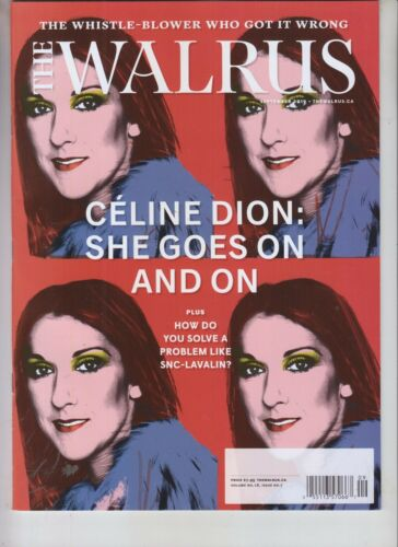 CELINE DION THE WALRUS MAGAZINE SEPTEMBER 2019
