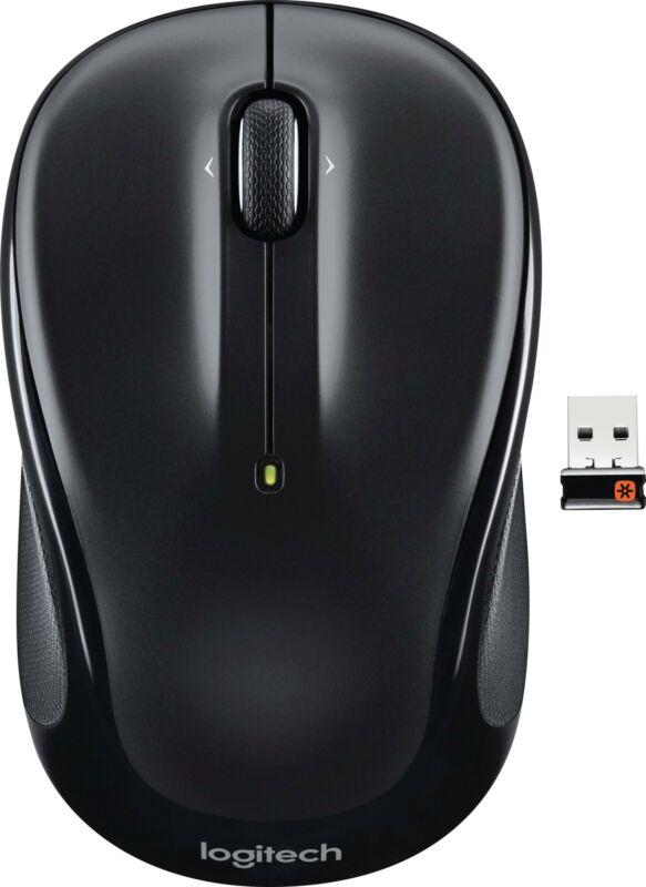Logitech - M325 Wireless Optical Mouse - Black