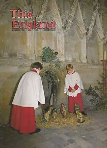 THIS ENGLAND MAGAZINE WINTER CHRISTMAS 1986 FEATURES ON MANCHESTER & BIRMINGHAM