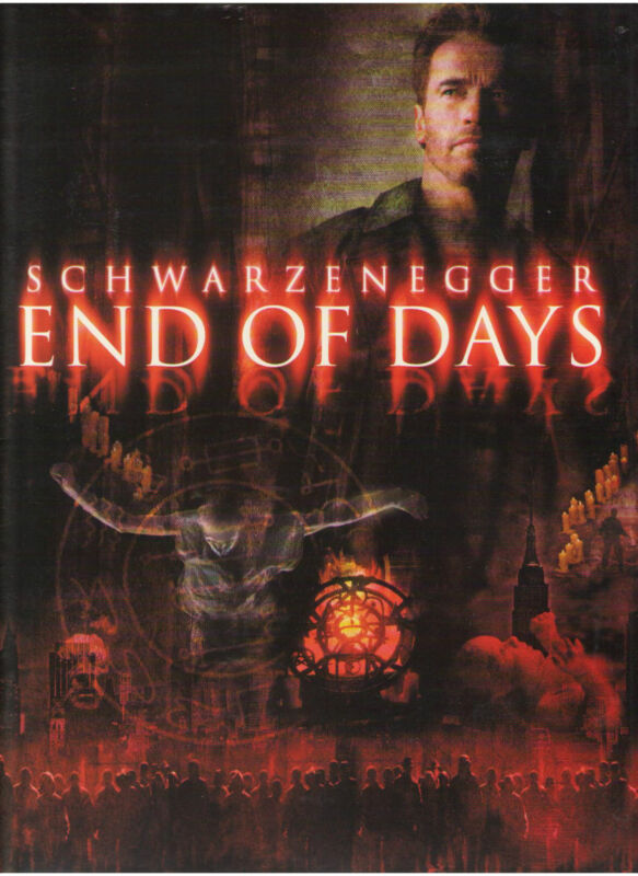 END OF DAYS PRESS KIT ARNOLD SCHWARZENEGGER KEVIN POLLACK BYRNE ROBIN TUNNEY CCH