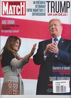 DONALD TRUMP MELANIA TRUMP PARIS MATCH MAGAZINE NOVEMBER 5 2017