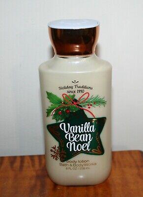 NEW Bath & Body Works Vanilla Bean Noel Body Lotion 8 oz.