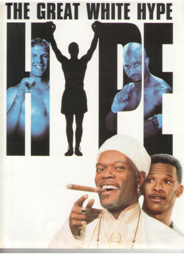 GREAT WHITE HYPE PRESS KIT BOXING SAMUEL JACKSON WAYANS LOVITZ CHEECH JAMIE FOXX