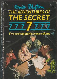 THE ADVENTURES OF THE SECRET 7 Enid Blyton ~ Large 5-in-1 HC 1987