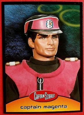 CAPTAIN SCARLET - Card #23 - Captain Magenta - Cards Inc 2001