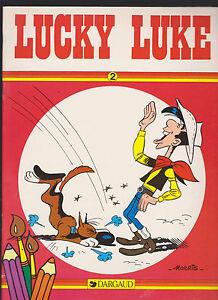 MORRIS-LUCKY-LUKE-ALBUM-DA-COLORE-N-2-DARGAUD-1985