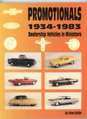 Promotional Dealership Miniature Metal Plastic Toy Cars 1934-1983 / Book +Values