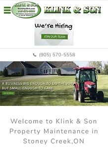 Full time Property Maintenance Position