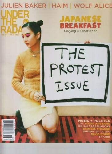 JAPANESE BREAKFAST UNDER THE RADAR MAGAZINE APR MAY JUN 2021 HAIM