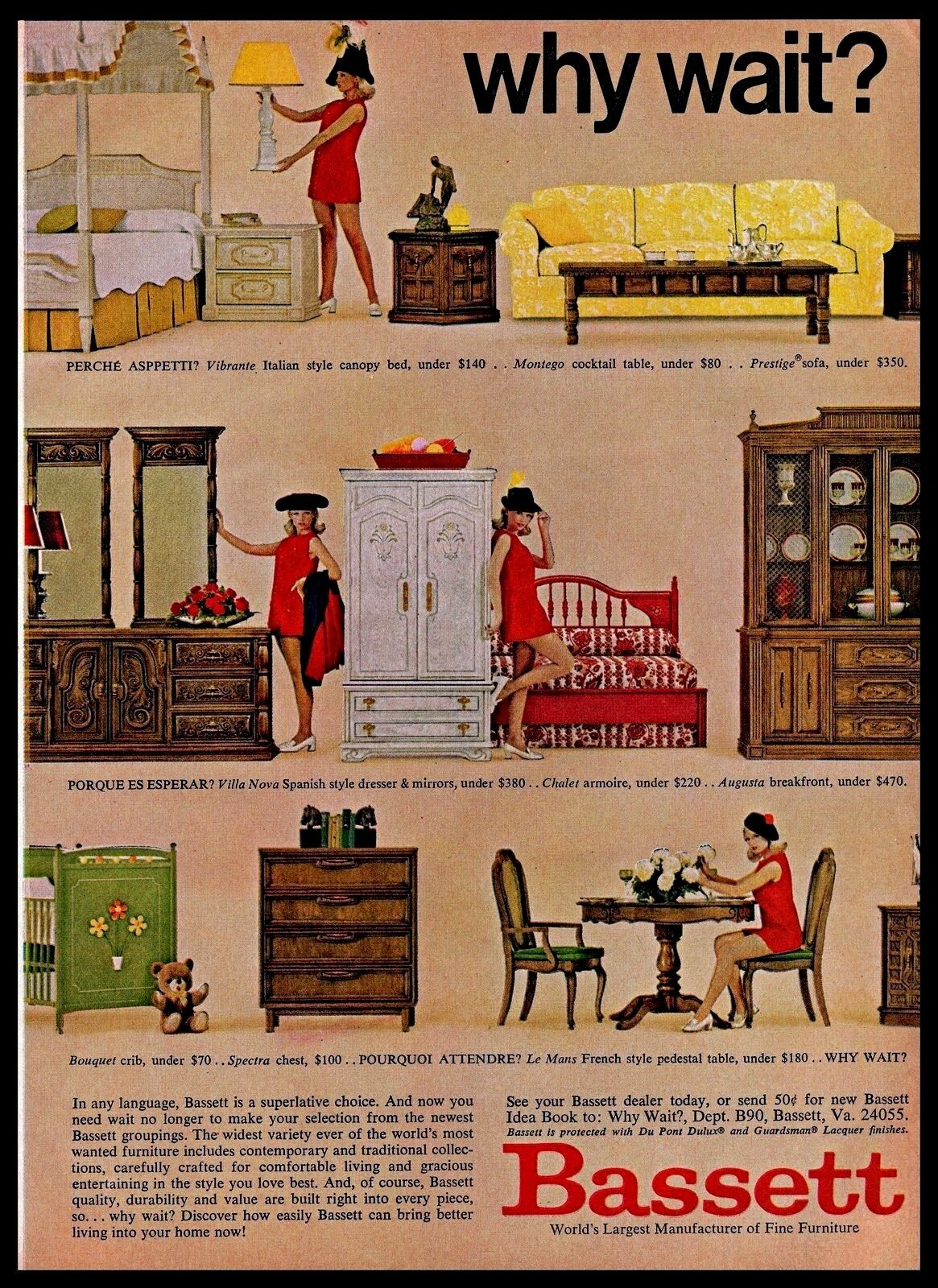 1969 Bett Furniture Home Decor Lady Modeling Red Dress Vintage ...  S Home Furniture on 1960s ads, 1960s graphics, 1960s wall decorations, 1960s chair, 1960s carpeting, 1960s shoes, 1960s living room, 1960s wood, 1960s photography, 1960s vintage fabric, 1960s mad men style, 1960s produce, 1960s cake decorating, 1960s prom gowns, 1960s leather couch, 1960s dolls, 1960s table centerpieces, 1960s fur, 1960s lamps, 1960s coffee tables,