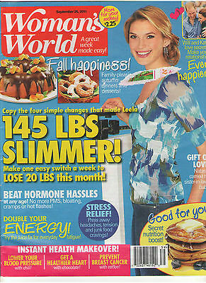 WOMAN'S WORLD 2011 FALL FASHIONS LOVE SECRETS FROM KATE & WILLS BROWNIES OREGON