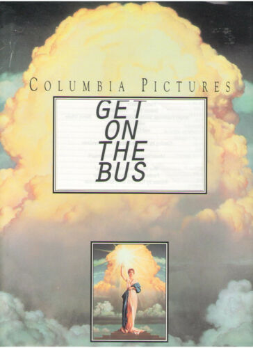 GET ON THE BUS PRESS KIT OSSIE DAVIS DUTTON BELZER BONDS MILLION MAN MARCH 1996