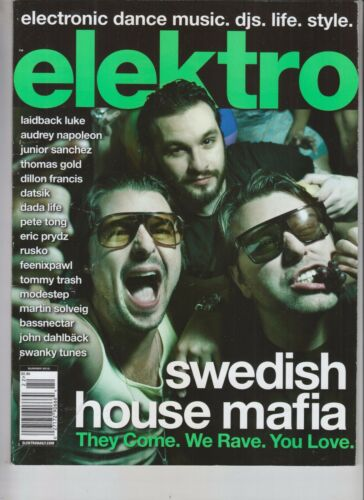 SWEDISH HOUSE MAFIA ELEKTRO MAGAZINE SUMMER 2012