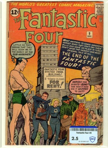 Fantastic Four CBCS raw grade 2.5